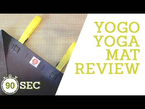 Best in Travel Yoga Mats | YOGO Folding Yoga Mat | Small As a Newspaper - Whaa?!
