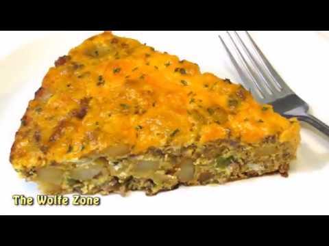 BIG Country Breakfast Frittata! - Easy Skillet Breakfast Recipe!