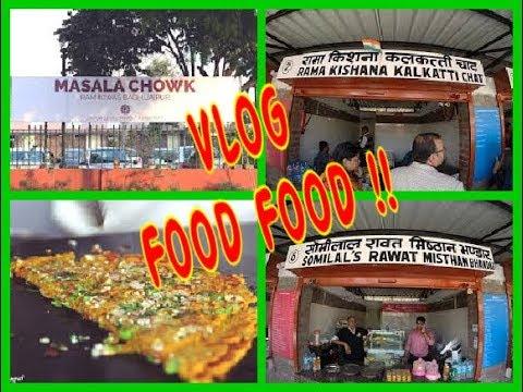 Jaipur famous food at one place   Street Food   Rajasthani Food  Angels reborn