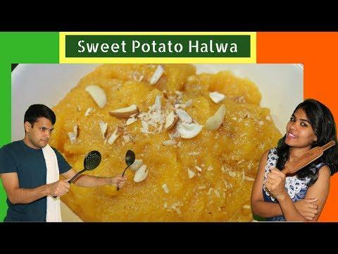 Tasty and Yummy Sweet Potato Halwa | Shakarkandi Ka Halwa Recipe