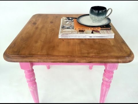 Paint Stripping Pine Table DIY Restoration | Vikkie's Vintage