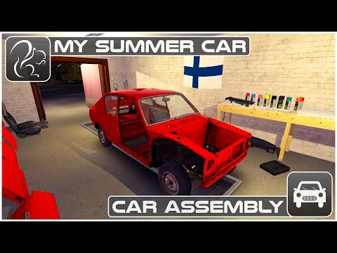My Summer Car - Car Assembly