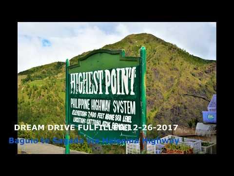 Baguio to Sagada 2017 (Part5 Cebu-Pagudpud Drive Series) -  Halsema Highway Dream Drive Fulfilled