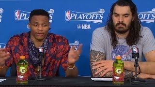 """Russell Westbrook BLASTS Reporter: """"Don"""