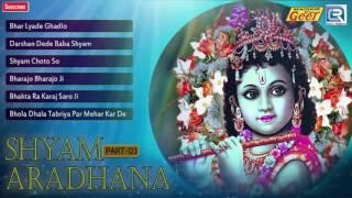 Rajkumar Swami New Bhajan | Shyam Aradhana | Part 3 | Shree Kirshan Songs | Rajasthani AUDIO Songs