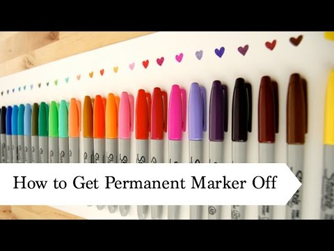 How to Get Permanant Marker Marks off your AG Doll