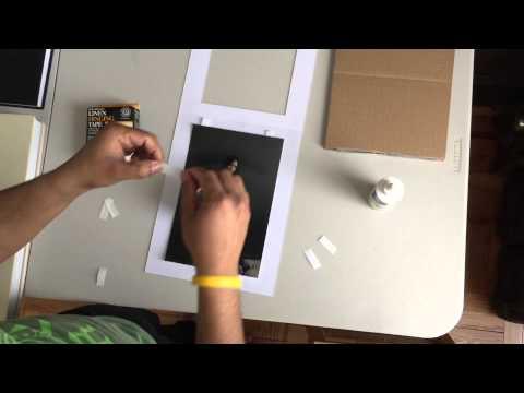 Assambling your folio box mats