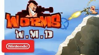 Worms W.M.D Launch Trailer - Nintendo Switch