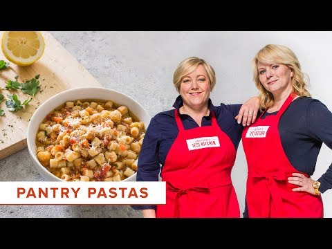 2 Easy Pasta Recipes and the Science Behind Parmesan Cheese's Signature Flavor