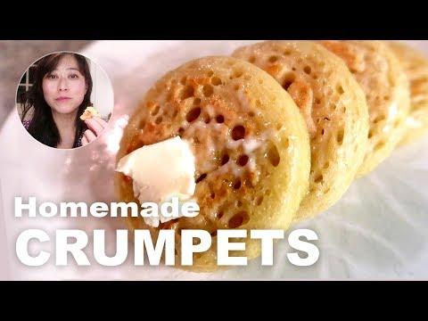 How to make British crumpets | Easy vegan baking