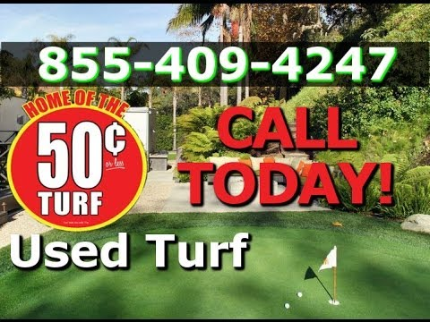 Used Artificial Turf For Sale - Cheap Fake Grass and Used Field Turf