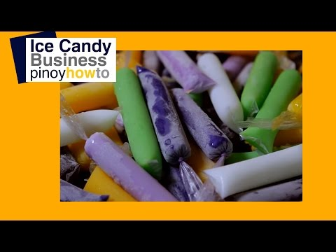 How to make Ice Candy| Pinoy How To