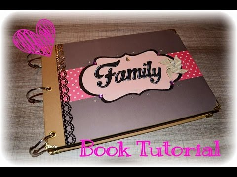Tutorial Family Book ✏️✂️📏📒