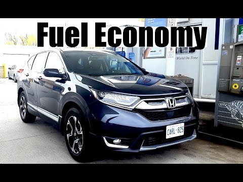 2018 Honda CR-V - Fuel Economy MPG Review + Fill Up Costs