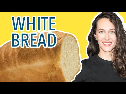 How to Make White Loaf Bread - Soft Sandwich Bread Recipe Demo