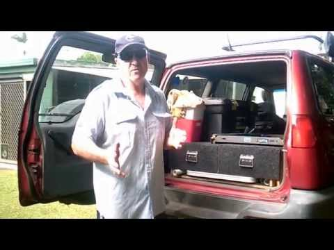 4WD Cargo Drawers Home made
