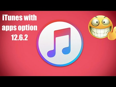 iTunes with Apps option 12.6.3