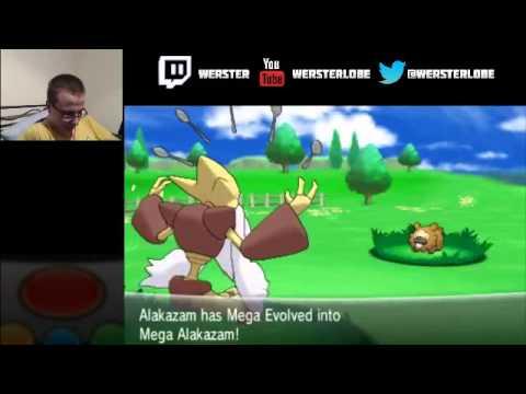 Pokemon X/Y Mega Alakazam Mega-evolution