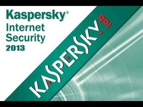 Kaspersky Internet Security 2013 full free+serial key