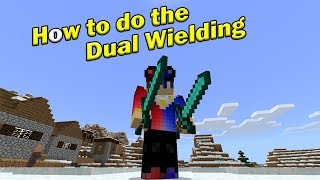 How to Do the DUAL WIELDING | Minecraft PE