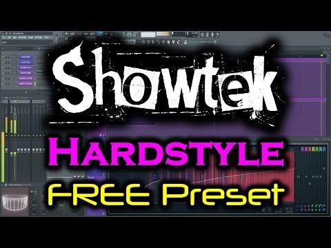 FL STUDIO HARDSTYLE PRESET FREE DOWNLOAD   Showtek Lead Synth1   1000 Subscriber Giveaway