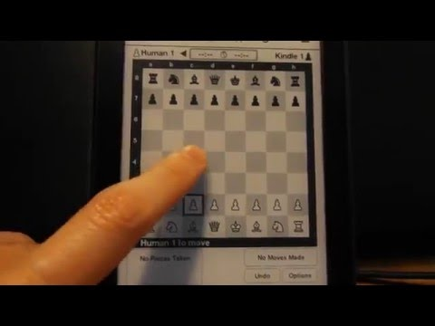 Playing chess on kindle paperwhite II