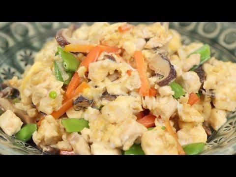 Iri Dofu (Healthy Scrambled Tofu Recipe) | Cooking with Dog