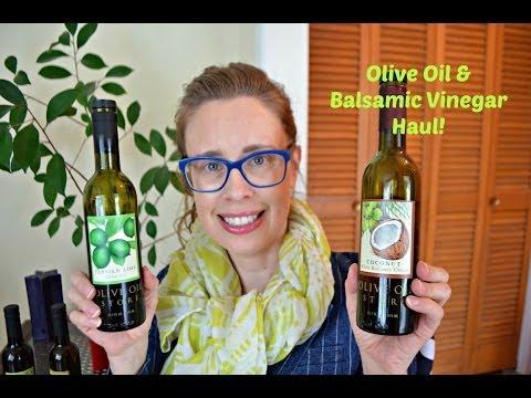 Olive Oil & Balsamic Vinegar Haul!