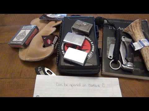 YouTube Mail : 90's Knife, New Zippos, Cigars, & Stuff For Gus!!!
