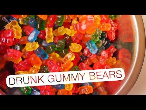 Drunk Gummy Bear - Confissões de uma Doceira Amadora