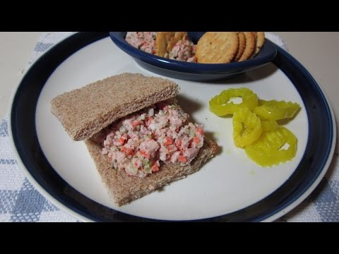 How To Prepare Quick And Tasty Ham Salad  - DIY  Tutorial - Guidecentral