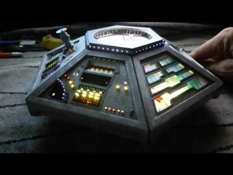 Tardis Main Console Fibre Optics Test Video 2