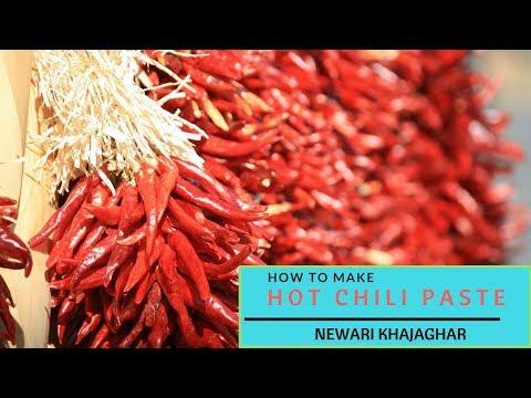 Hot chili paste