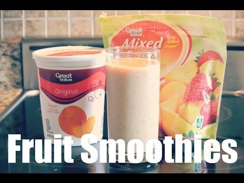 FRUIT SMOOTHIES FOR WEIGHT LOSS (Detox) Healthy You