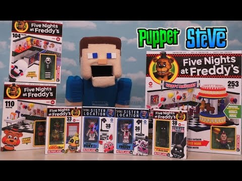 Five Nights at Freddy's fnaf McFarlane toys Series 3 Full lineup Checklist construction set