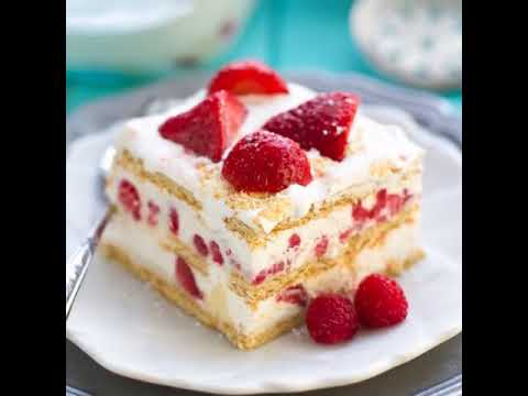 No Bake Strawberry Icebox Cake RECIPE