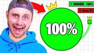 How to LEGIT Get 100% In PAPER.IO!