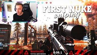My FIRST Modern Warfare TACTICAL NUKE!! (MW SNIPING NUCLEAR)