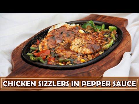 Recipe | Chicken Sizzlers in Pepper Sauce | Camera Cuisine
