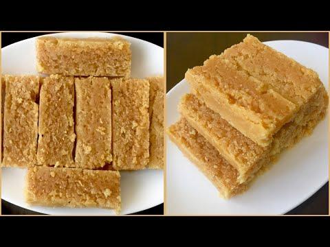 7 cup Burfi recipe  |  7 cup sweet recipe | Sweet like Mysorepak | Valsala's kitchen