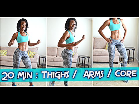 20-Minute: THICK thighs, FLABBY arms, BELLY FAT core Full Length Workout!