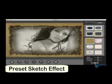 How to Create Photo Pencil Sketch with PicSketch