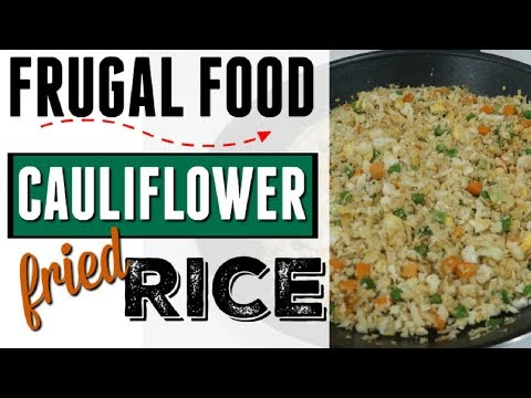 COOK WITH ME ● HOW TO MAKE CAULIFLOWER FRIED RICE ● VEGAN KETO PALEO RECIPE