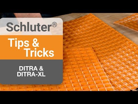 How to choose between DITRA & DITRA-XL
