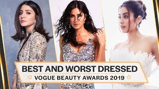 Anushka Sharma, Shilpa Shetty, Katrina Kaif : Best and Worst Dressed at Vogue Beauty Awards 2019