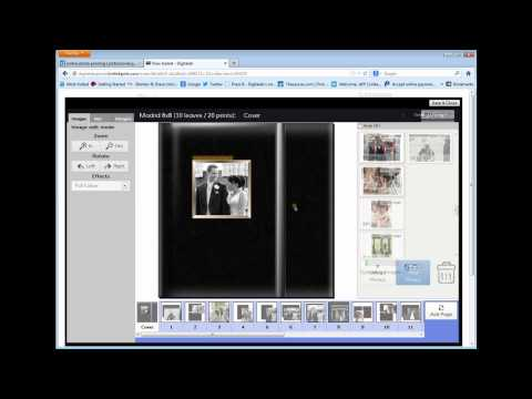 How to Create & Design Your Own Photo Album Online
