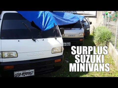VLOG 01 - The Hunt for Surplus Suzuki Multicab Minivans