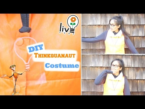 Spook Book⎟DIY Thinkquanaut Costume (from Cloudy With a Chance of Meatballs)