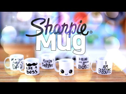 DIY - How to Make: Doll SHARPIE Mug - EASY - Handmade - Crafts