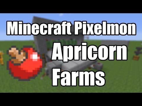 Minecraft Pixelmon - Apricorn Farming